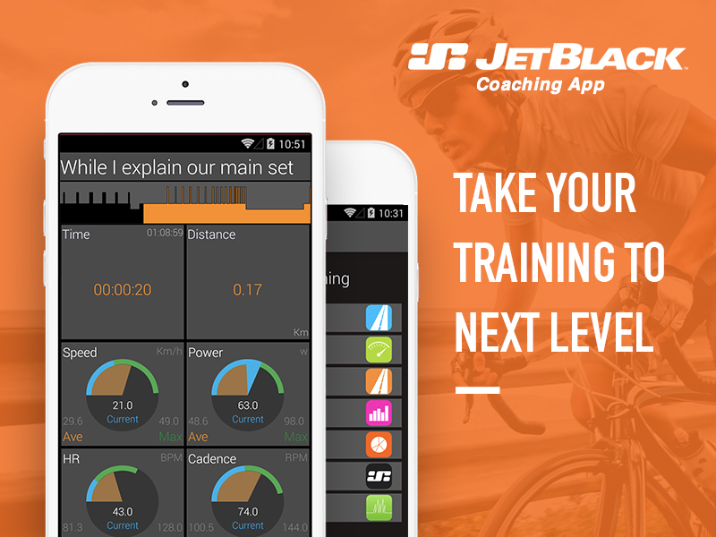 JetBlack Cycling Training App